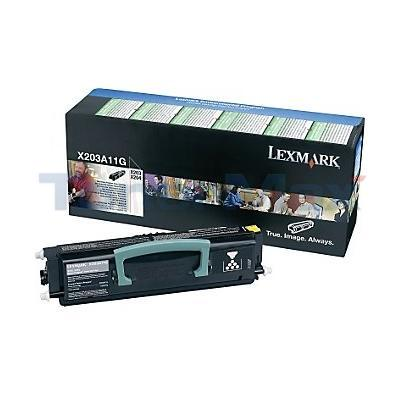 LEXMARK X204N RP TONER CARTRIDGE BLACK